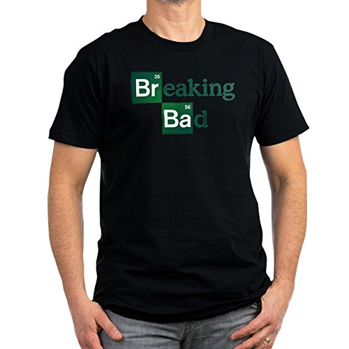 CafePress - Breaking Bad - Men's Fitted T-Shirt, Stylish Printed Vintage Fit T-Shirt Black