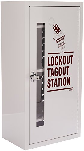 Lockout Tagout Station - Brady  LC977A,  Lockout Tagout Station, Cabinet Only with Locking Handle