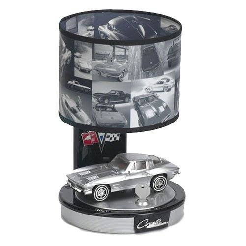 KNG America 28494 Art Deco KNG 1963 Corvette Stingray Lamp