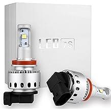 KOOMTOOM LED Kit H8 H11 CREE-XHP50 Head Lights Headlights Convertion Kit 360 Degree Lighting Plug-N-Play 10000LM 80W - 6500K - 2 Pack