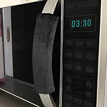 OUGAR8 Microwave Door Handle Covers,Keep Your Kitchen Appliance Clean from Smudges, Fingertips, Drips, Food Stains, Perfect for Oven(6
