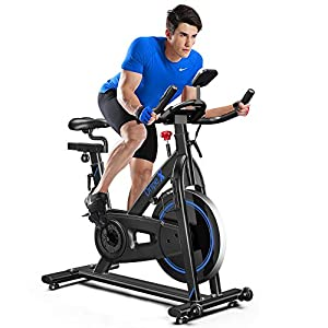 Well-Being-Matters 41XHTNtCaVL._SS300_ Dripex Indoor Cycling Magnetic Resistance Exercise Bike (2020 Upgraded Version), Studio Commercial Quality, Heavy Duty…