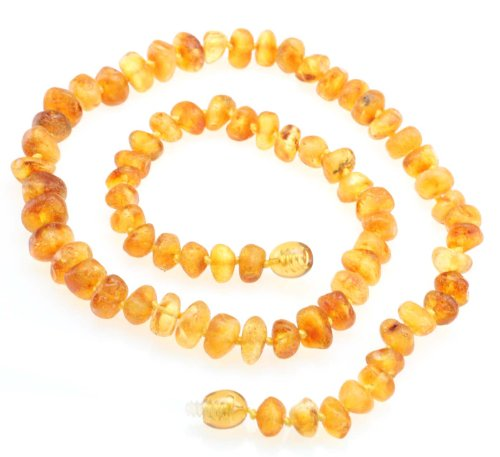 Raw Amber Teething Necklace Ad