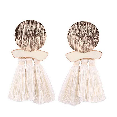Monowi Womens Fashion Bohemian Earrings Long Tassel Fringe Boho Dangle Earrings Jewelry | Model ERRNGS - 4541 |