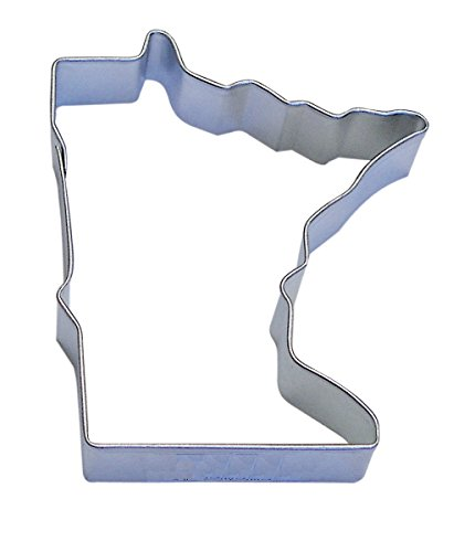 R&M Minnesota State Cookie Cutter in Durable, Economical, Ti