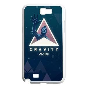 Samsung Galaxy N2 7100 Cell Phone Case White Avicii Gravity SUX_930174