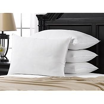 Amazon Com Ella Jayne Home Soft Queen Size Bed Pillows 4