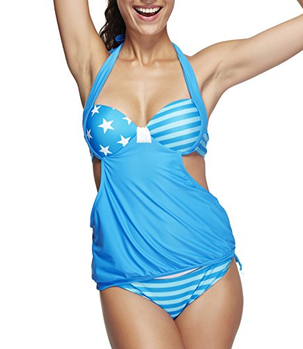 SPRING FEVER - Conjunto - para mujer Light Blue Star