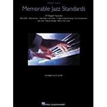 Memorable Jazz Standards (Piano Solo Songbook)