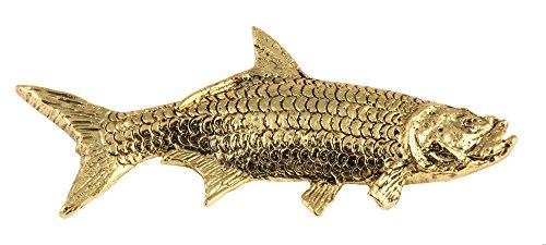 Tarpon PremiumSaltwater Fish 22k Gold Plated Rare Earth Refrigerator Magnet Gift, SG041PRM