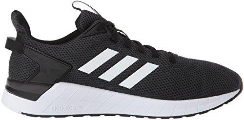 Adidas Mens Giro Questar Scarpa Da Corsa Nero / Bianco / Carbonio