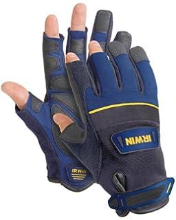 Joiners Carpenter Large IRW10503828 IRWIN Fingerless Work Gloves