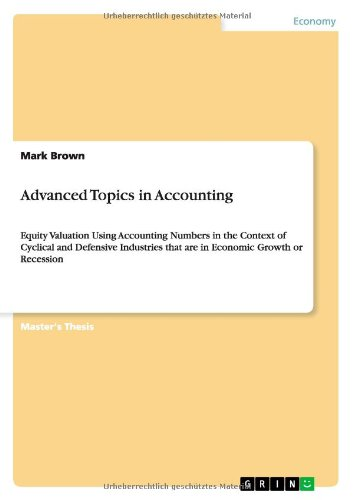 Download Advanced Topics in Accounting Text fb2 book