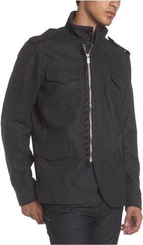 Ben Sherman Men's Benn Wool Coat,Grey,X-Large