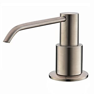 commercial bathroom soap dispenser.  Soap Comllen Commercial Brushed Nickel Stainless Steel Kitchen Sink Countertop Soap  Dispenser With 106 Ounce Capacity Inside Bathroom R