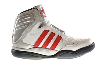 Adidas Tech Street Mid Men's Shoes Run White/Vivid Red/Black g65890