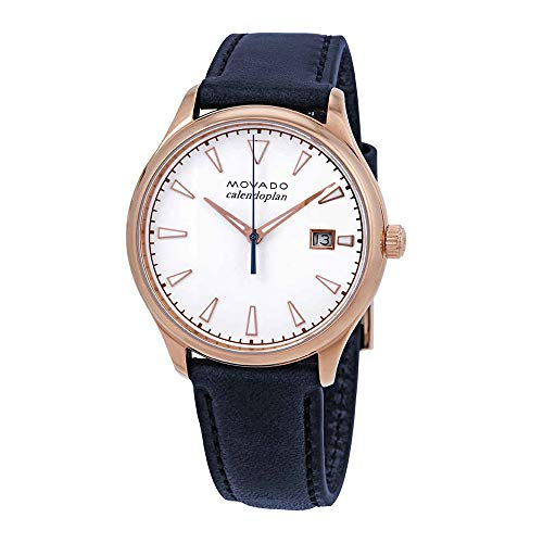 - Movado Heritage White Dial Ladies Watch 3650034