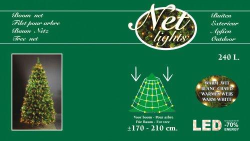 Lichterkette fur weihnachtsbaum mit ring
