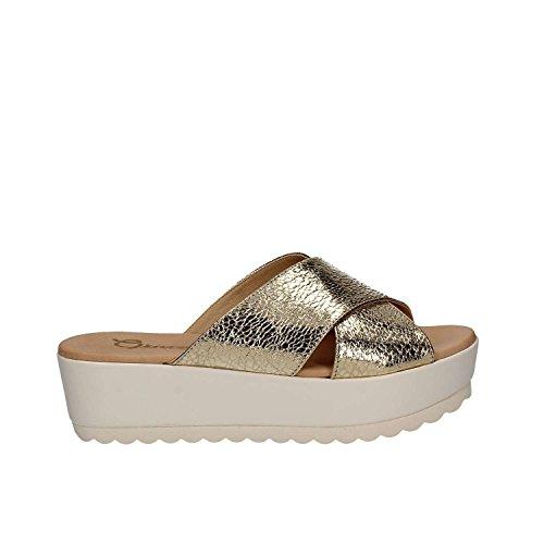 Grace Shoes P 02 F 0 S Sandalias Mujeres Plata