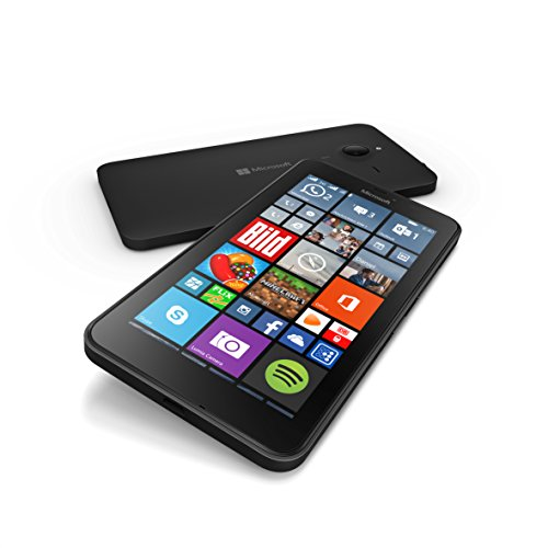 Microsoft Lumia 640 XL 8GB Unlocked GSM Quad-Core WIndows Smartphone w/ 13MP Camera - Black