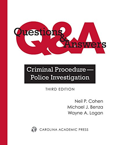 Questions & Answers: Criminal Procedure--Police Investigation