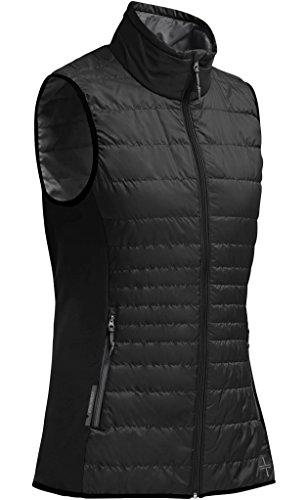Icebreaker Women's Halo Vest, Black/Monsoon, X-Large