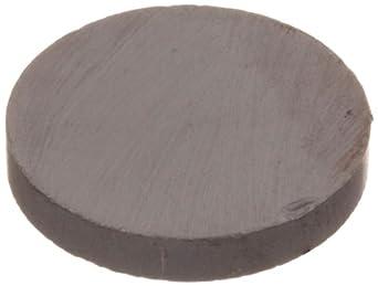 "Ceramic Disc Magnet, 0.970"" Diameter, 0.156"" Thick (Pack of 6)"