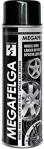Fahrzeugteile Hoffmann 1 Stück 500ml Felgenlack Felgen Farbe Schwarz Glanz 22544 Auto