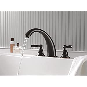 Delta Windemere BT2796-OB Roman Tub Trim, Oil-Rubbed Bronze (Rough-in sold separately)