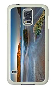 Customized Samsung Galaxy S5 White Edge PC Personalized Tide Cover doudou's case