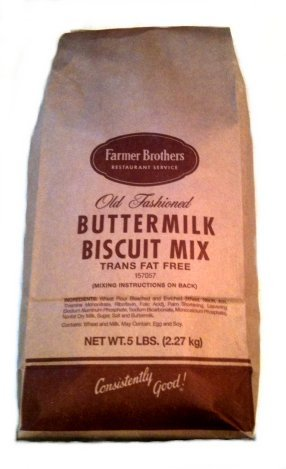 Farmer Brothers Biscuit Mix, Buttermilk, 5 lb Bag by Farmer Brothers