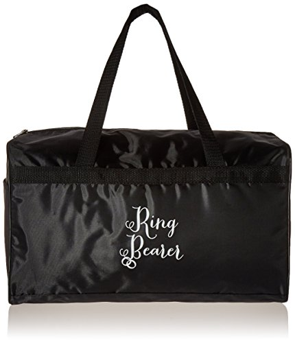 Lillian Rose Ring Bearer Duffel Bag, 15.5-Inch by 9.5-Inch (Ring Bearer Tote)