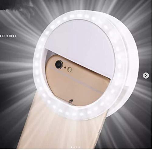 Trendmax Rechargeable Night LED Selfie Flash Light for Smartphones(Multicolour)