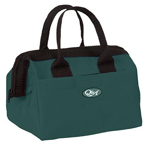 Q&A SUPPLY Grooming Bag/Goodie Bag/Grooming Tote/Grooming Access. Bag/Mini Zip Tote in Hunter ()