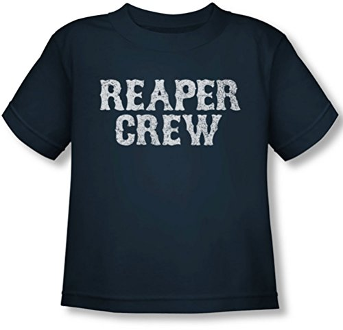 Sons Of Anarchy - Toddler Reaper Crew T-Shirt, 2T, Navy