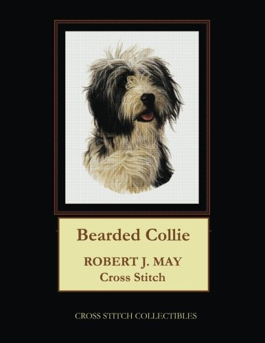 Bearded Collie: Robt. J. May Cross Stitch Pattern