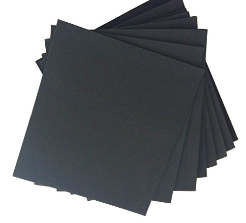 XCEL Large Rubber Sheets Value Pack, Neoprene, 8 Piece 9