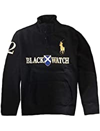 Polo Ralph Lauren Men\u0026#39;s Big Pony Black Watch Sweatshirts, X-Large, Black