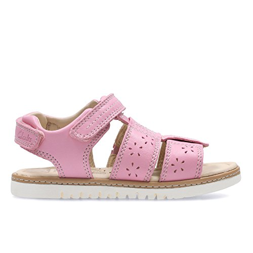 Clarks Magical Fun Inf Girl's Sandals Pink Combi