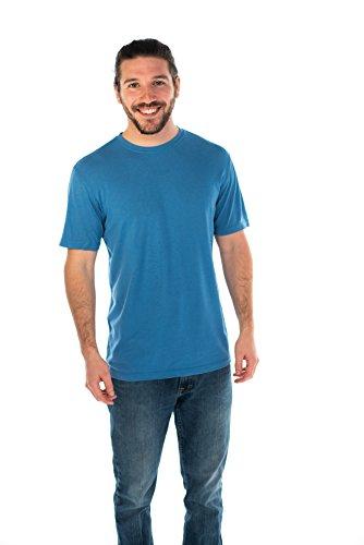 ONNO Men's Bamboo T-Shirt XS Sea Blue