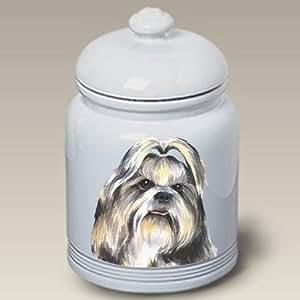 Amazon.com: Shih Tzu Dog Cookie Jar by Barbara Van Vliet