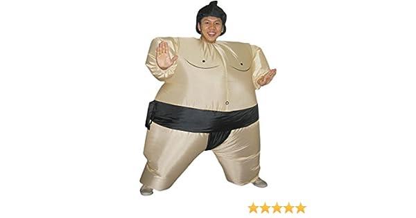 DISONIL Disfraz Hinchable Luchador de Sumo