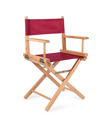 Amazon.com: MLX - Silla de madera plegable para director o ...