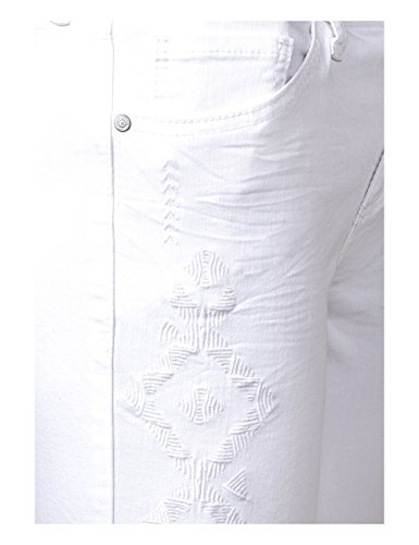 Bianco Slim Jeans 11371 Donna Denim Street One white wOIE1xSq