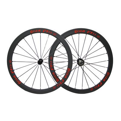 Bola Pro carbon bike wheelset,240℃ High TG ceramic braking surface,+/-0.2mm offset,Two Year Warranty,700C 38mm high 25mm wide tubeless carbon rim with DT Swiss 350s hub and Sapim Cx ray 20/24 spoke -  Bola Bicycle Co.,Ltd, RDR3