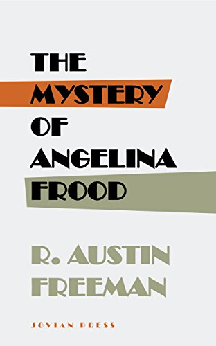 book cover of The Mystery of Angelina Frood