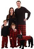 #followme Buffalo Plaid Blanket Sleepers 95197-10195D-0-9M