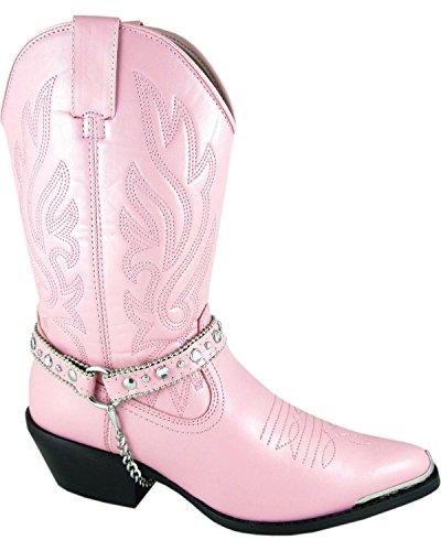 Stivale Da Cowgirl Charlotte Da Donna Di Montagna Fumoso A Punta - 6075 Rosa