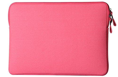 YiJee Wasserdicht Sleeve Laptoptasche Notebookhülle Zubehörtasche für MacBooks 13.3 Zoll Rose 1