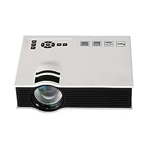 Sannysis® 1800 lúmenes doméstica Multimedia LED mini proyector 1080P de vídeo HD, HDMI, USB